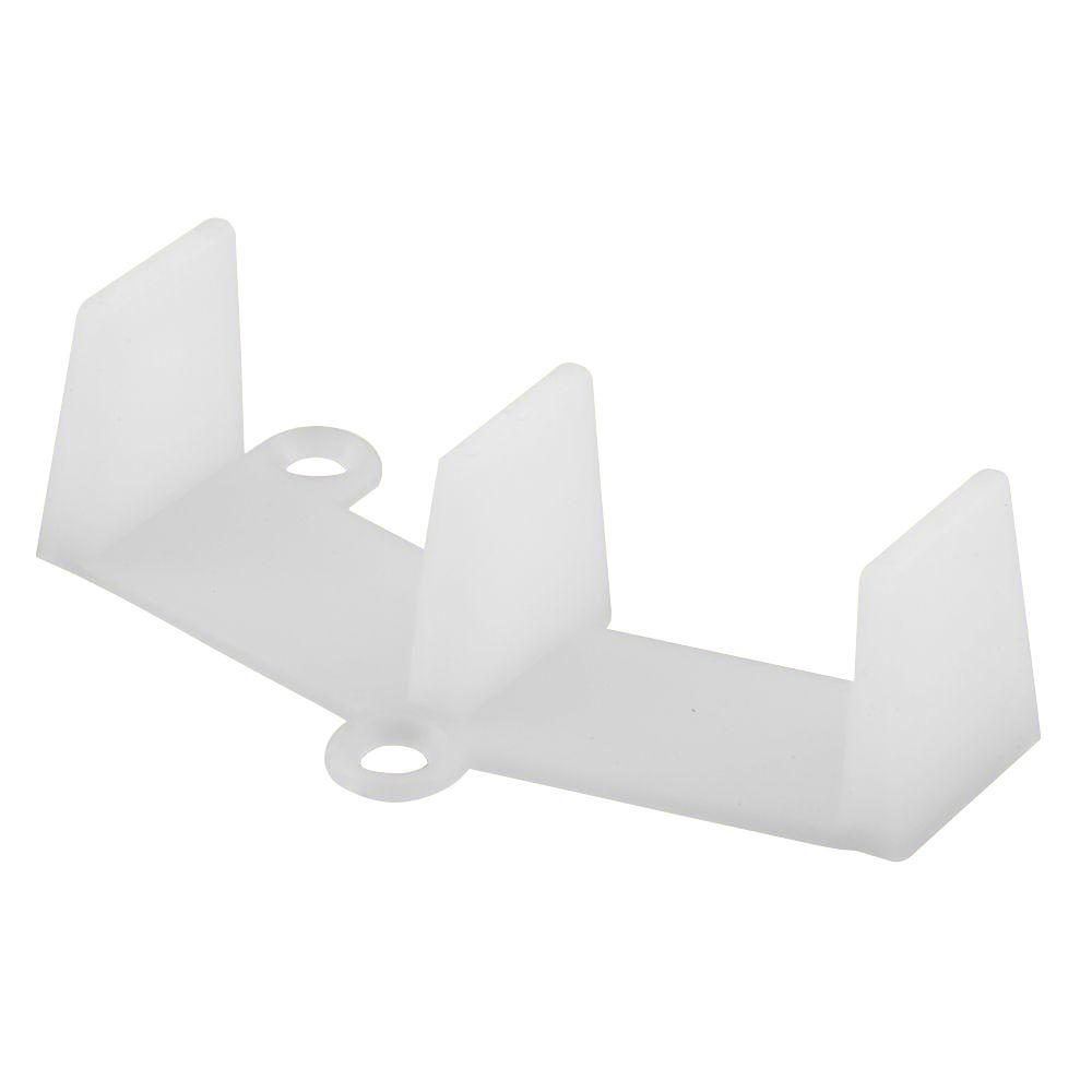 Prime-Line Bypass Door Bottom Guide, Nylon