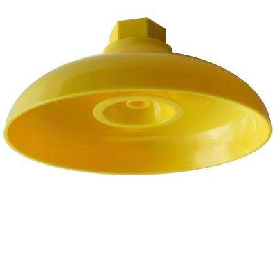 Lifesaver 8 in. Plastic Emergency Shower Head in Yellow