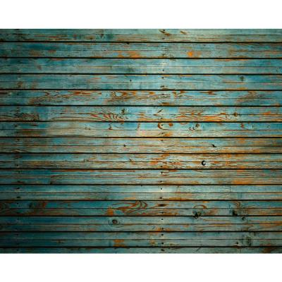 118 in. x 98 in. Washed Timber Wall Mural
