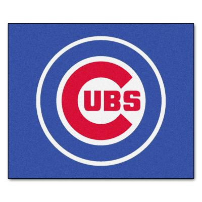 Chicago Cubs 5 ft. x 6 ft. Tailgater Rug