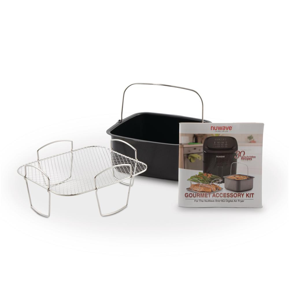 6 Qt. Brio Air Fryer Accessory Kit-37223 - The Home Depot