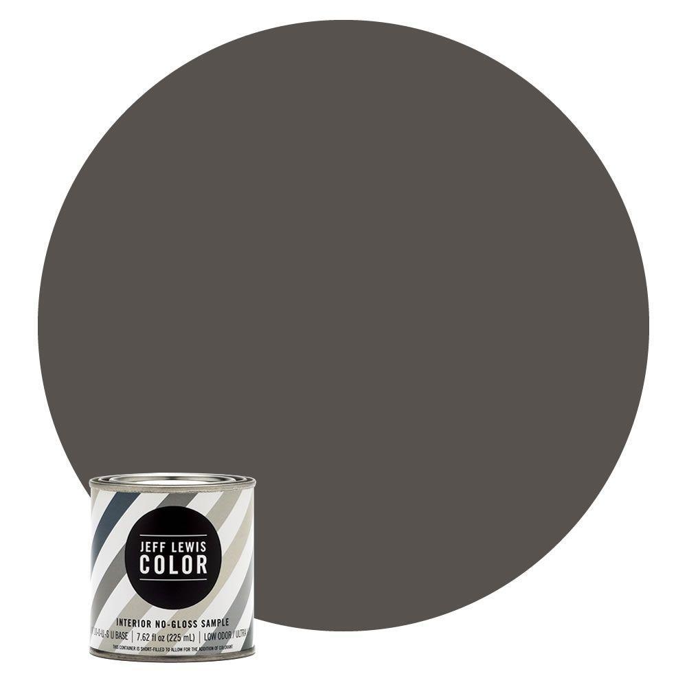 8 oz. #JLC112 Beaver No-Gloss Ultra-Low VOC Interior Paint Sample