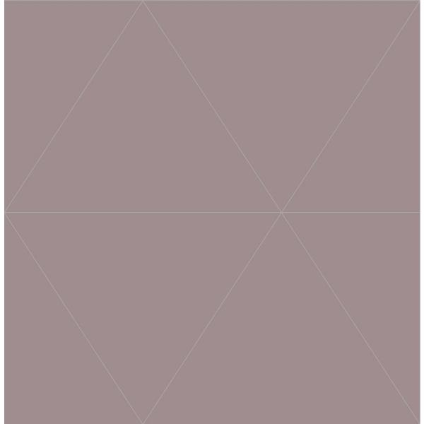 Hollister, Purple Twilight Geometric Paper Strippable Wallpaper Roll (Covers 56.4 sq. ft.)