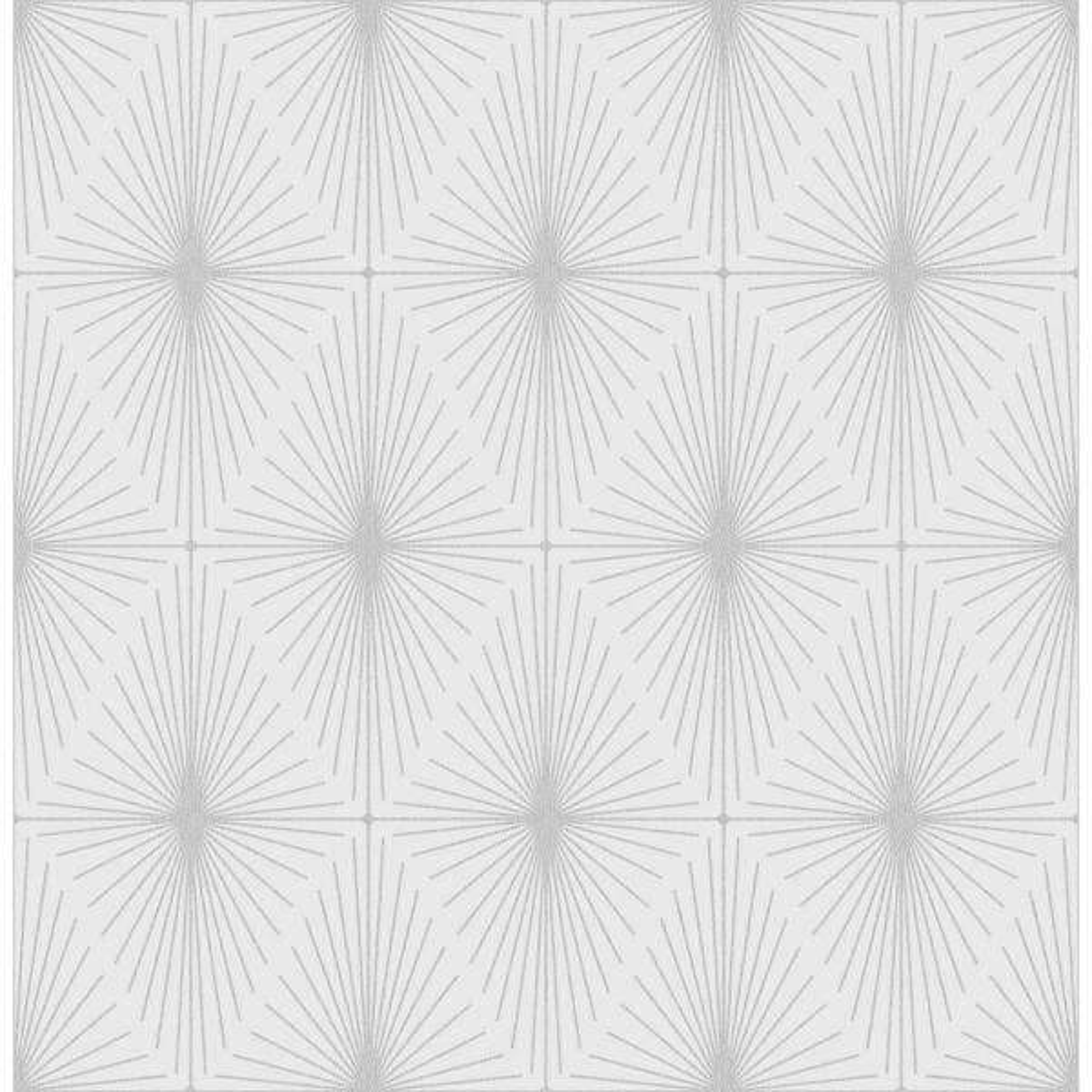 A-Street Starlight Dove Diamond Wallpaper Sample 2716-23823SAM