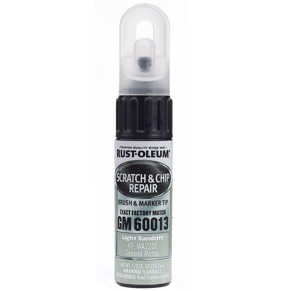 0.5 oz. Light Sandrift Scratch and Chip Repair Marker (6-Pack)