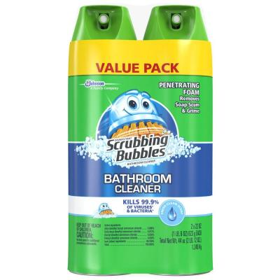 22 oz. Fresh Foaming Bathroom Cleaner (2-Pack)