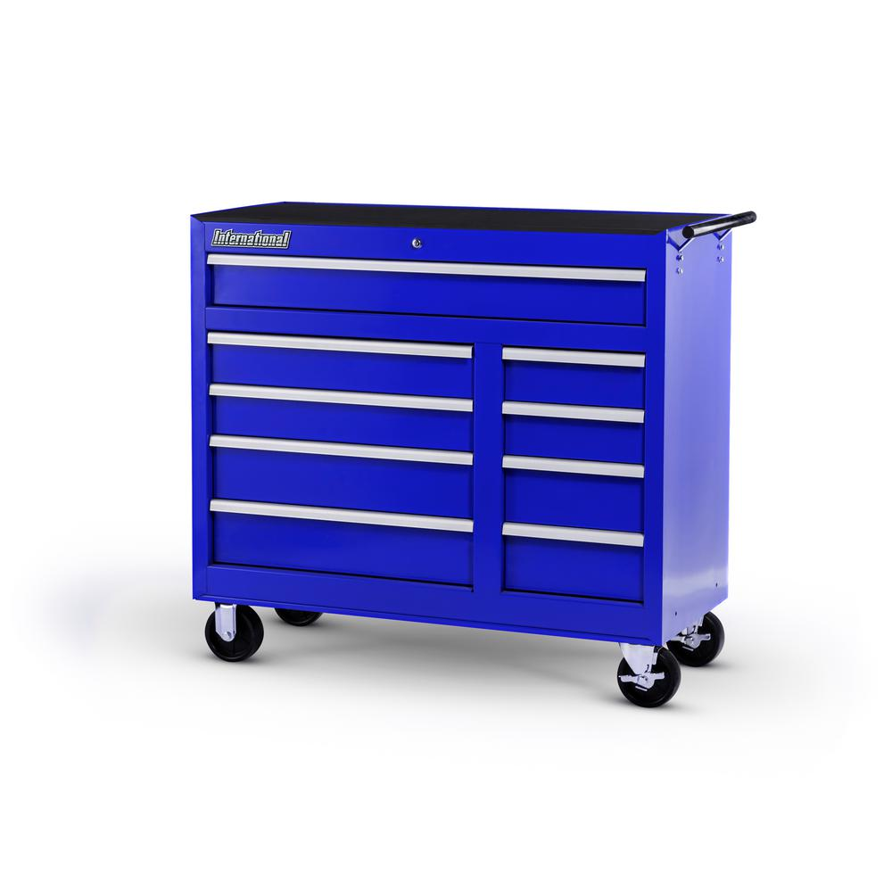 42 in. Workshop Series 5-Drawer Cabinet, Blue