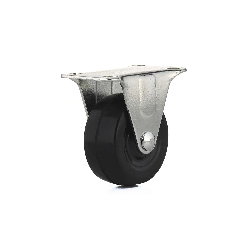 2 in. General-Duty Rubber Rigid Caster