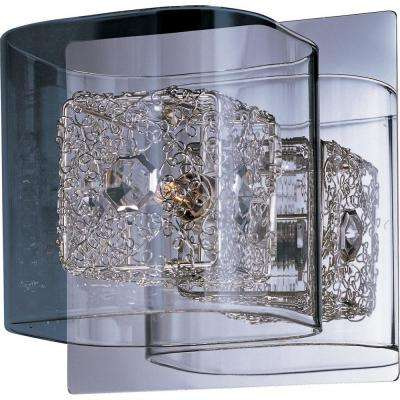 Gem 1-Light Wall Sconce with SV Shade