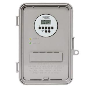 Intermatic 40 Amp Auto-Volt Digital Industrial Timer Switch - Gray by Intermatic