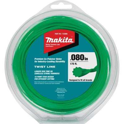 0.080 in. x 175 ft. Twisted Trimmer Line