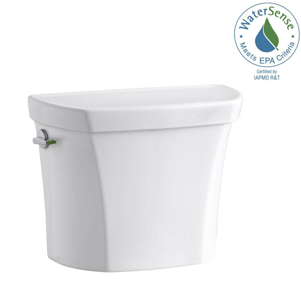 Kohler Wellworth 1 1 Or 1 6 Gpf Dual Flush Toilet Tank