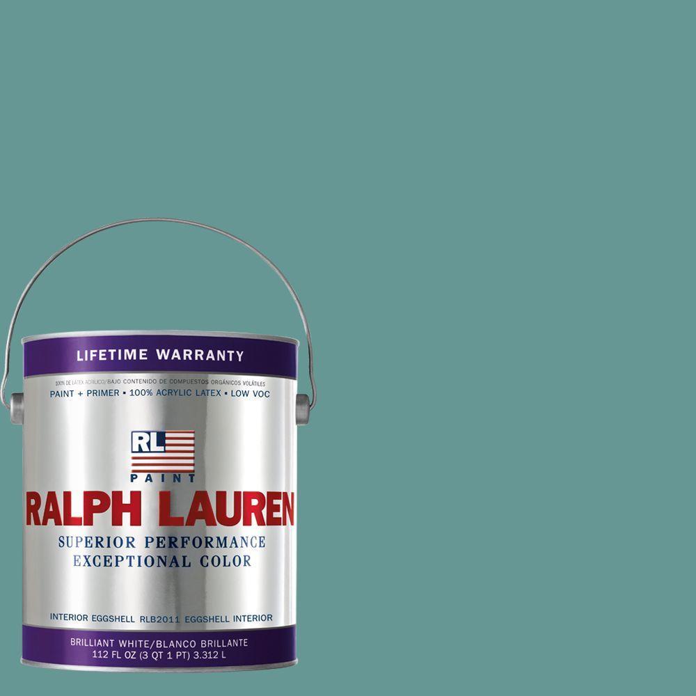Ralph Lauren 1-gal. Morris Blue Eggshell Interior Paint