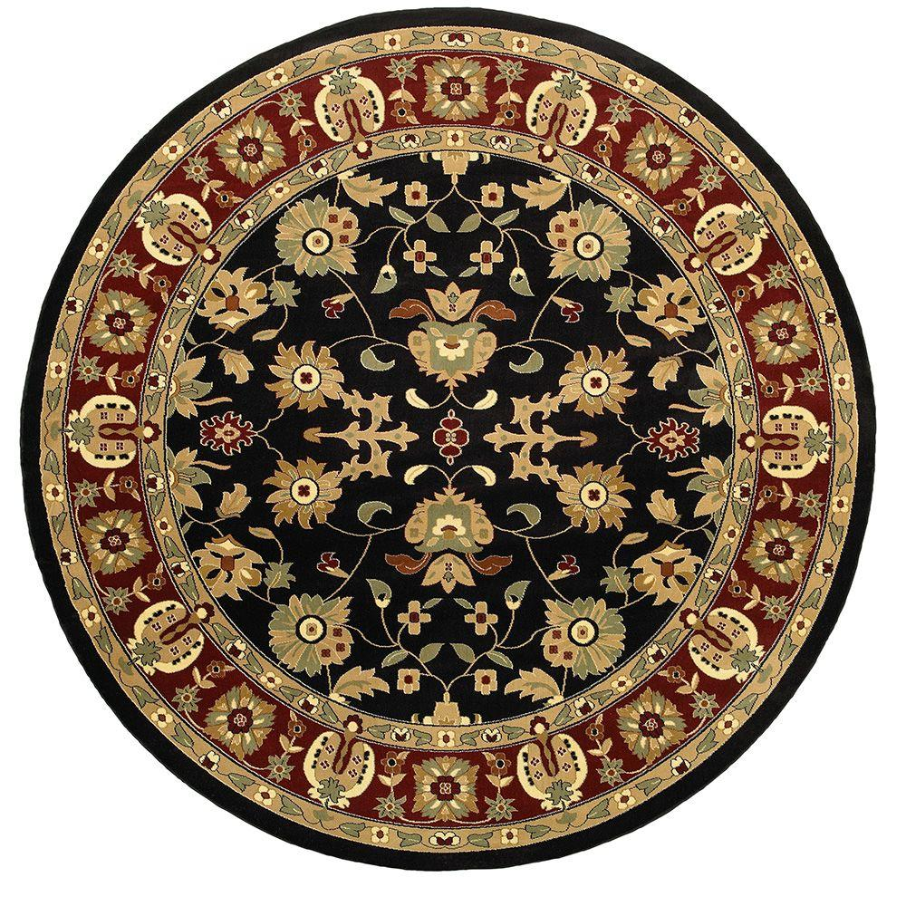 Round Rugs: Home Decorators Collection Masterpiece Red 6 Ft. Round
