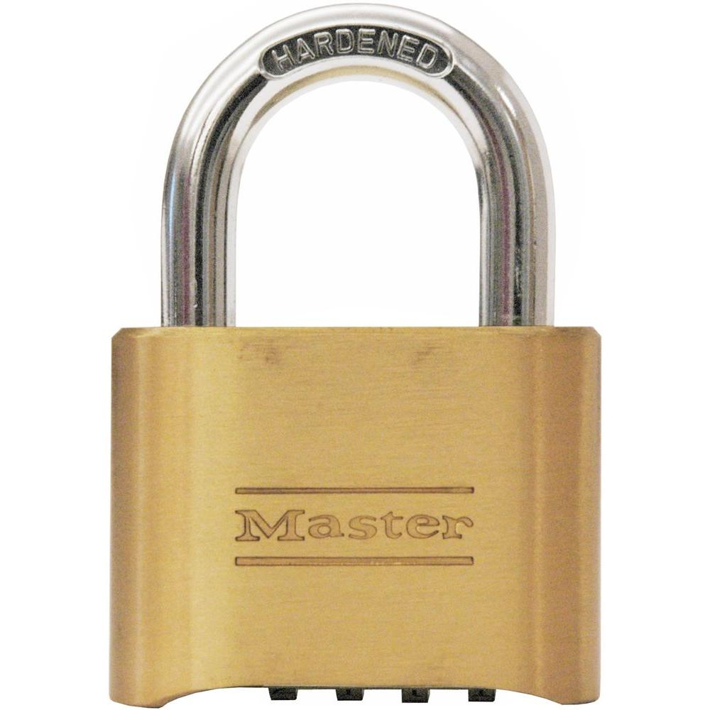 Master Lock 2 In Set Your Own 4 Digit Combination Padlock 175dhc The Home Depot