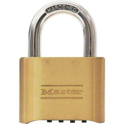2 in. Set-Your-Own 4-Digit Combination Padlock