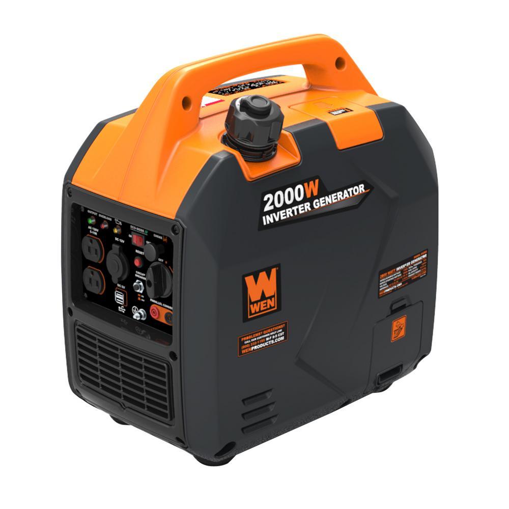 Super Quiet 2,000-Watt Gas-Powered Portable Inverter Generator, CARB Compliant