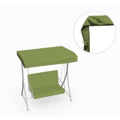 66 in. Swing Canopy in Sunbrella Spectrum Kiwi