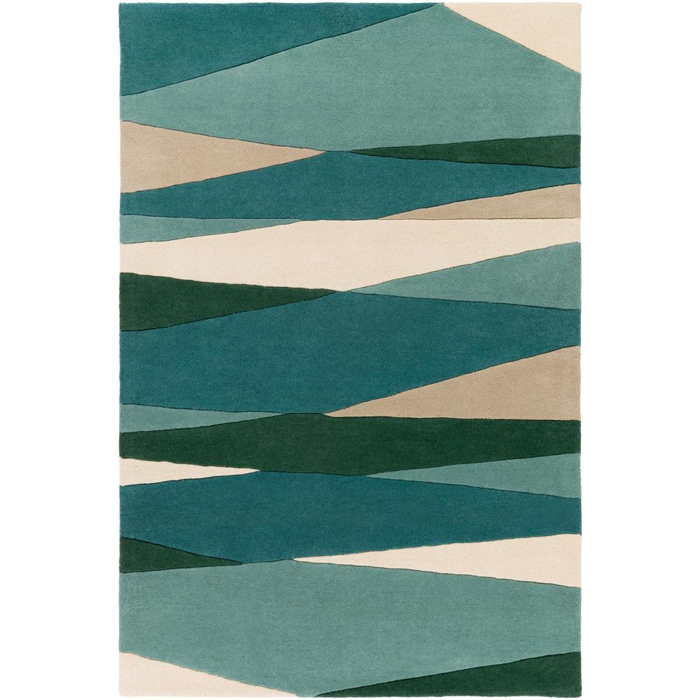Artistic Weavers Iltheos Teal 6 Ft. X 9 Ft. Indoor Area
