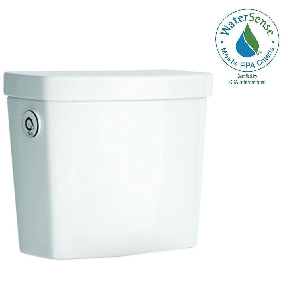 Studio Activate 1.28 GPF Single Flush Toilet Tank Only in White