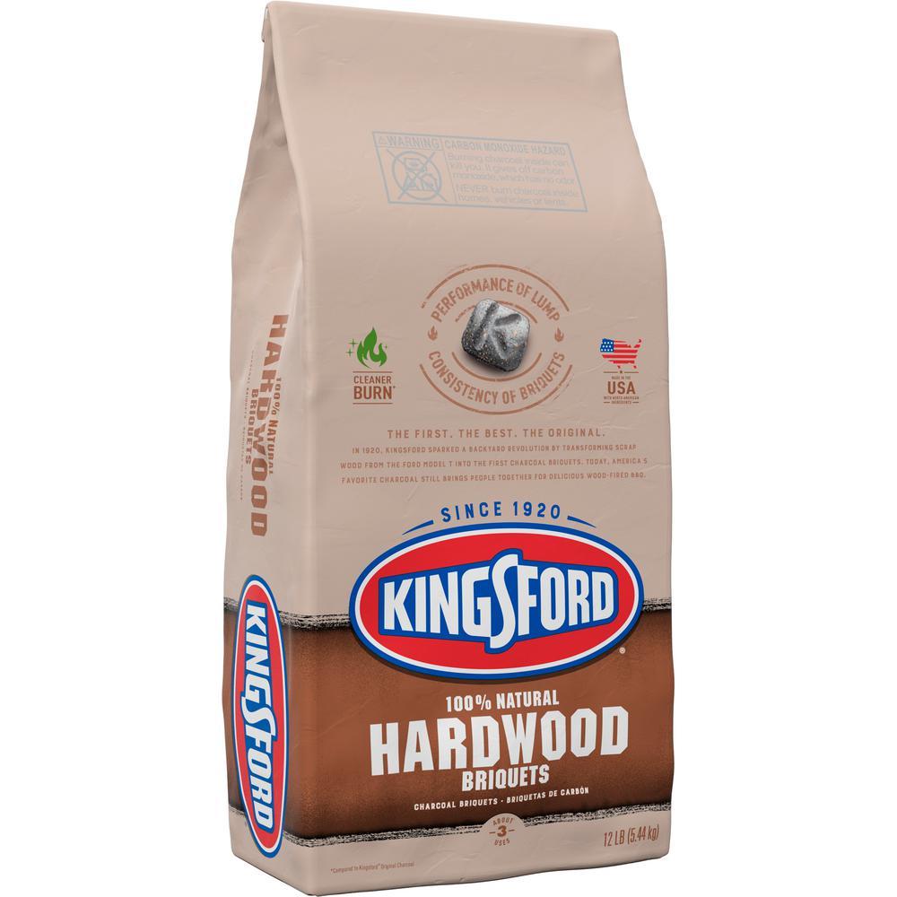 12 lbs. 100% Natural Hardwood Charcoal Briquettes