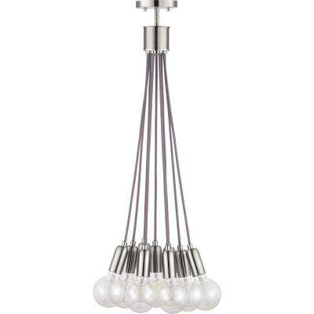 Cirro 9-Light Brushed Nickel Pendant