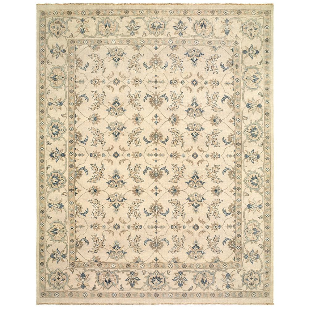 Kanika Silver 9 ft. x 12 ft. Indoor Area Rug