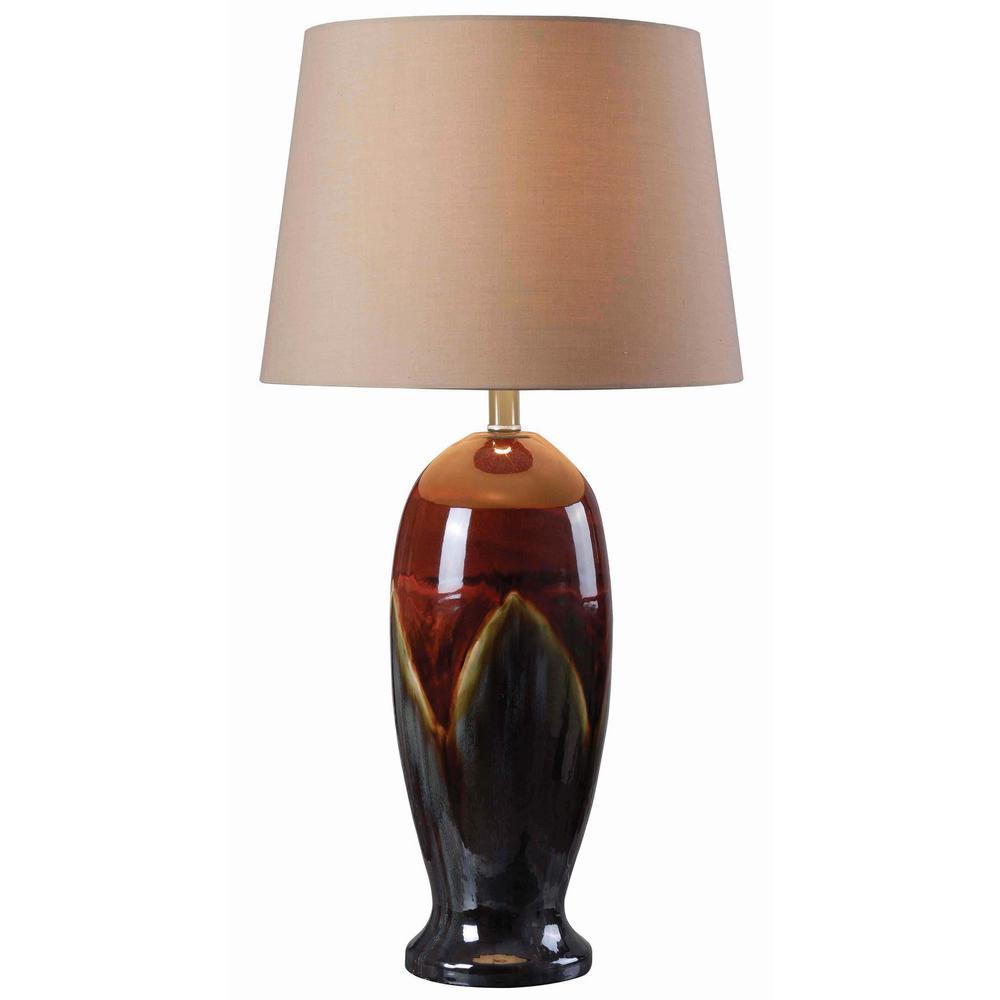 Lavo 30 in. Ceramic Glaze Table Lamp