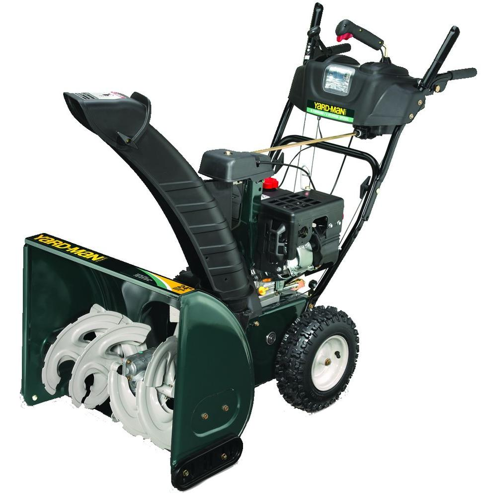 Yard-Man 24 in. 2-Stage Electric Start Gas Snow Blower