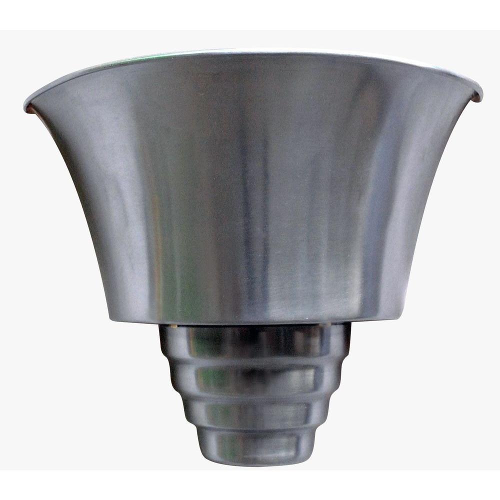 Kenroy Home Spinnaker 1-Light Brushed Steel Sconce