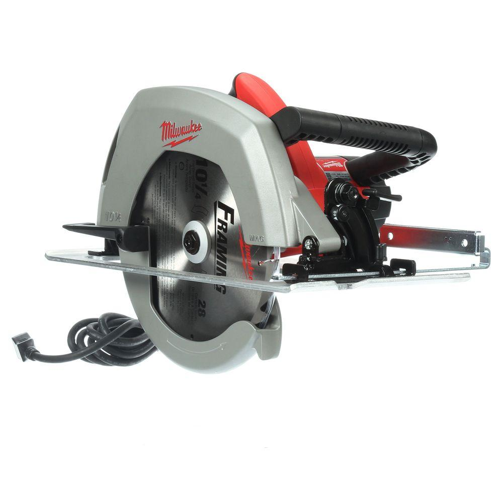 Milwaukee 15 amp 10 14 in circular saw 6470 21 the home depot circular saw greentooth Gallery