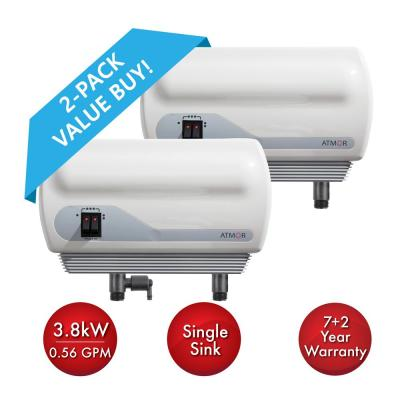 2-Pack Atmor 240-Volt 0.56 GPM Electric Tankless Water Heater