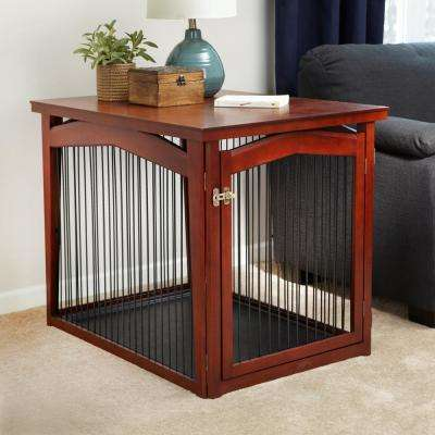 2-in-1 Dog Crate and Gate - Medium