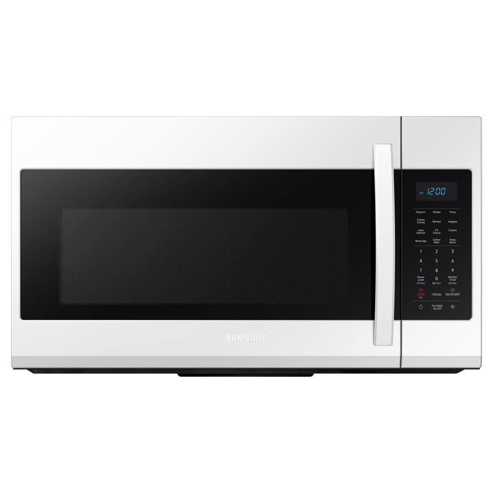 Samsung 30 in. 1.9 cu. ft. Over-the-Range Microwave in White