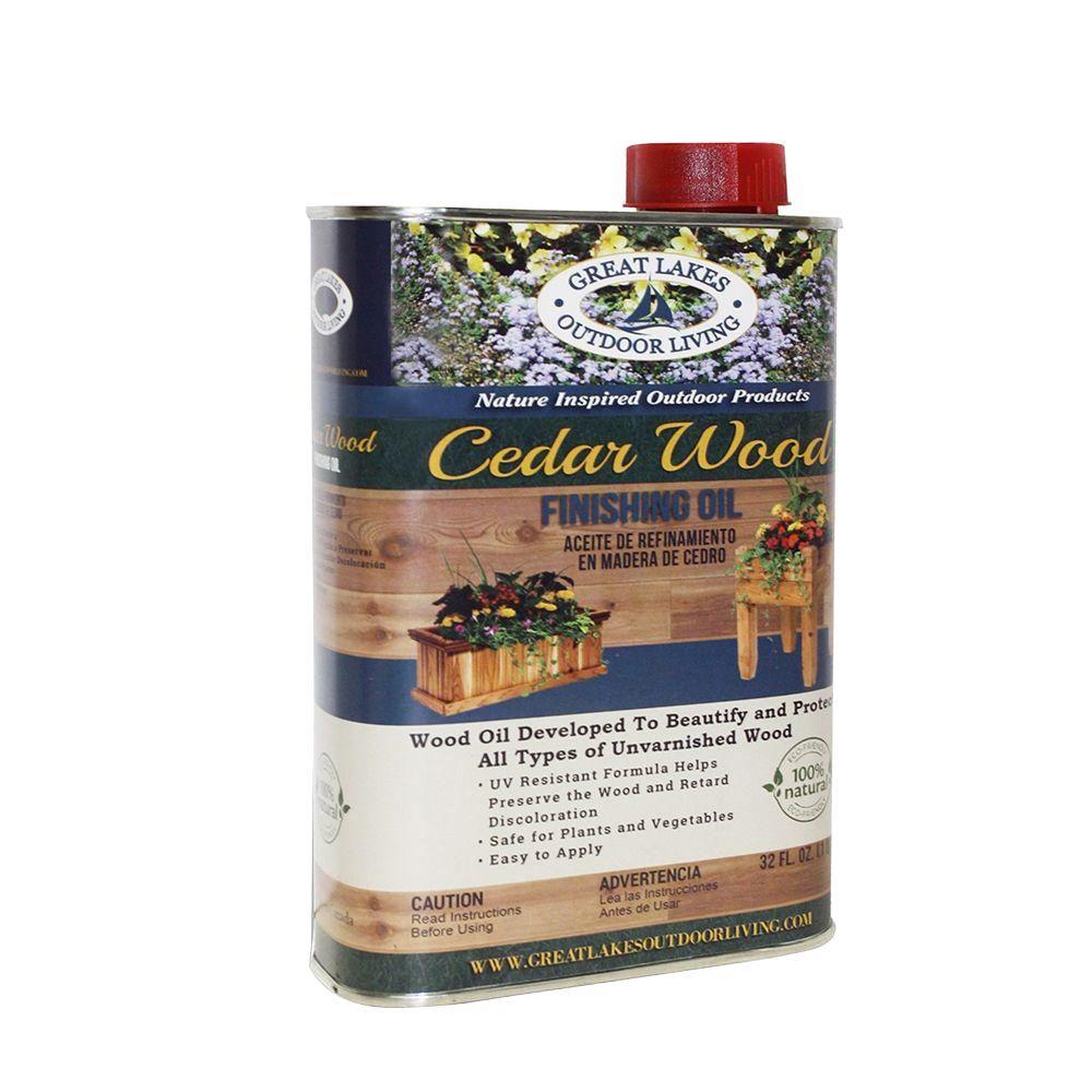 1 qt. Cedar Wood Finishing Oil