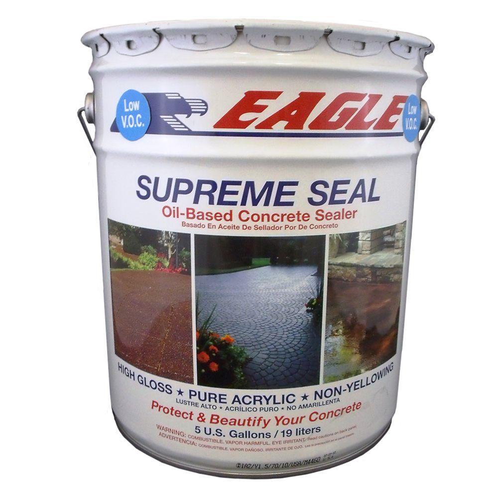5 gal. Supreme Seal High-Gloss Low VOC Solvent-Based Concrete Sealer