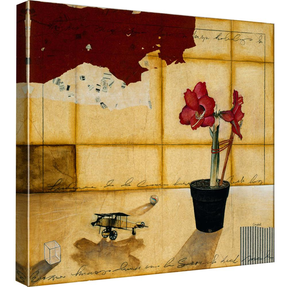 PTM Images 15.in x 15.in \'\'Memories 1\'\' Printed Canvas Wall Art-9 ...