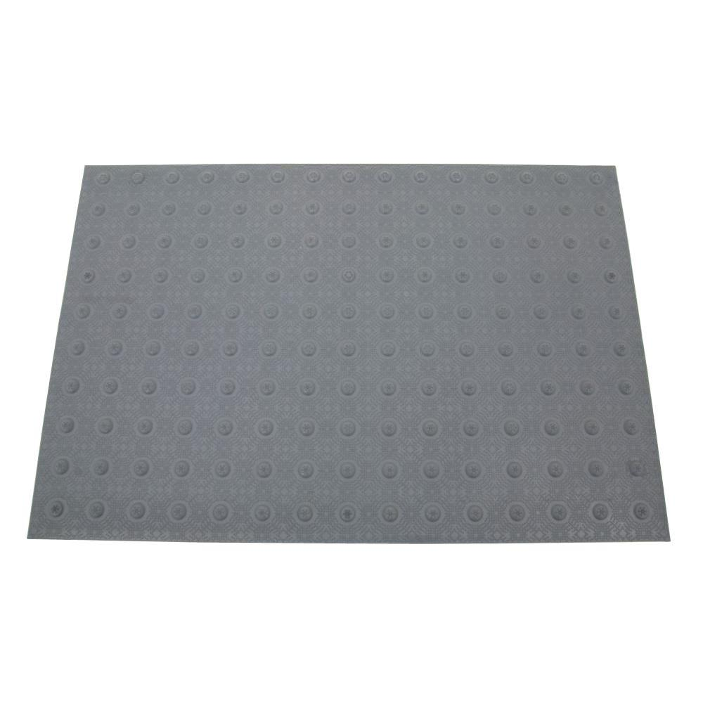 2 ft. x 3 ft. Dark Gray Detectable Warning Tile