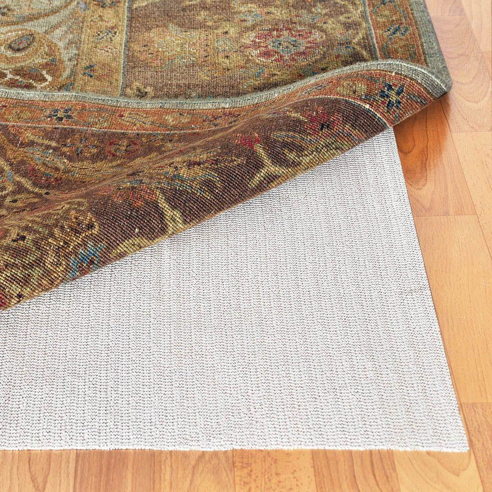 Outdoor Area Rug Pad: TrafficMASTER 8 Ft. X 10 Ft. Deluxe Rug Gripper Pad-235-1