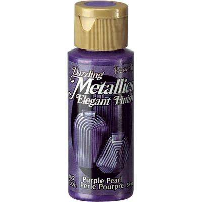 Dazzling Metallics 2 oz. Purple Pearl Acrylic Paint