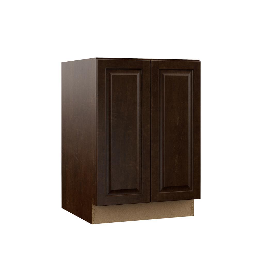 Gretna Embled 24x34 5x23 75 In Full Height Door Base Kitchen Cabinet Espresso