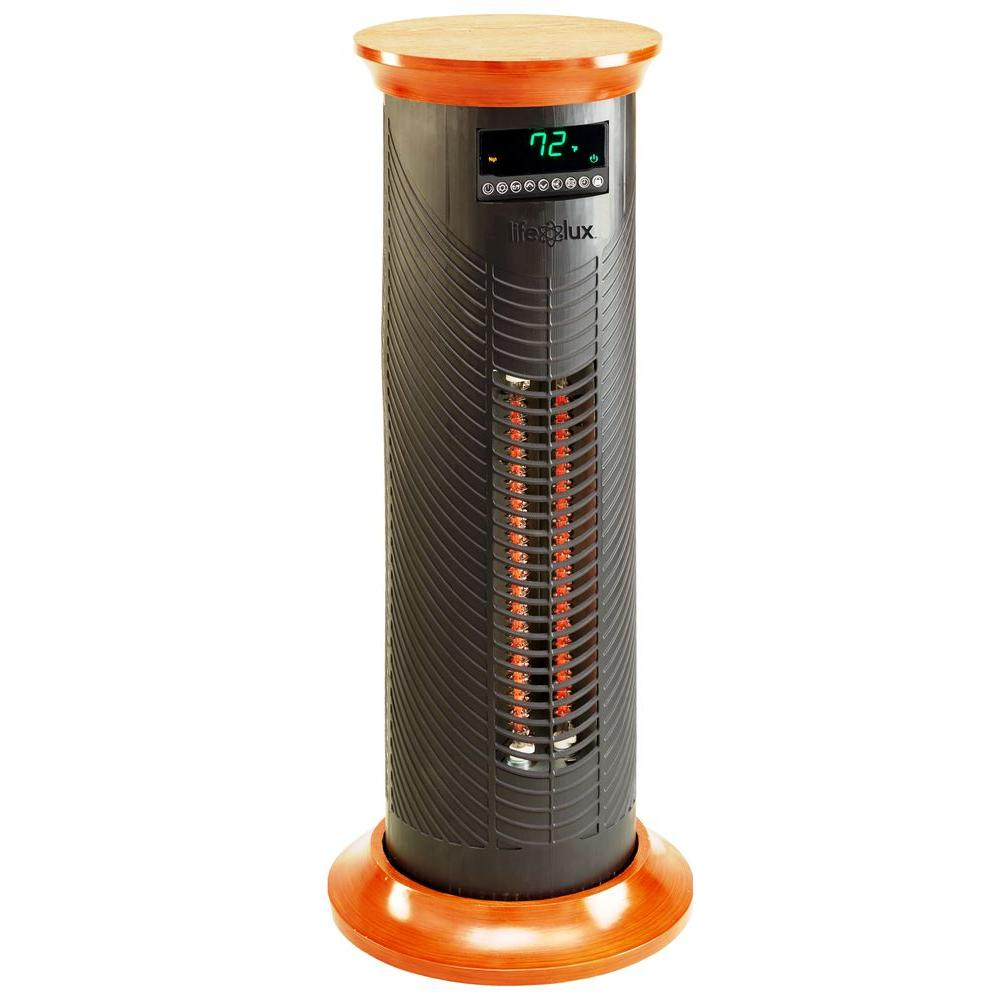 null Lifelux Series 31 in. 1500-Watt Electric Extra Large All Season Heating and Cooling Tower Remote