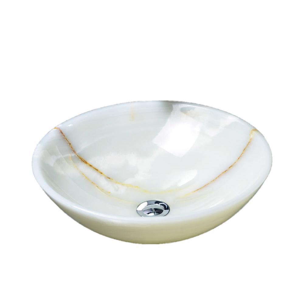 Matty Vessel Sink in Onyx