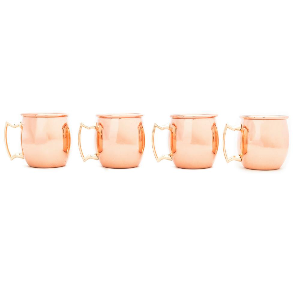 Mini Moscow 4-Piece Copper Bar Set