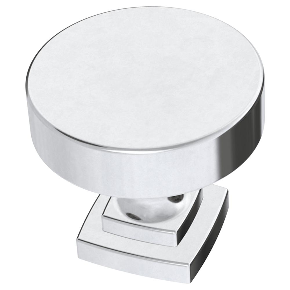 Liberty Classic Bell 1-1/4 in  (32 mm) Polished Chrome Cabinet Knob