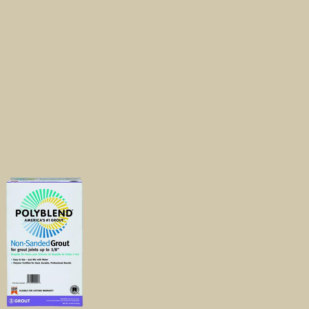 Custom Building Products Polyblend #382 Bone 10 lb. Non-Sanded Grout