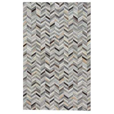 Butte Arrowhead Ash Multi 8 ft. x 10 ft. Area Rug
