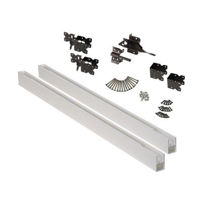White Vinyl Fence Gate Kit