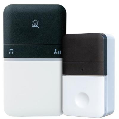 Battery Free Wireless Doorbell with Button