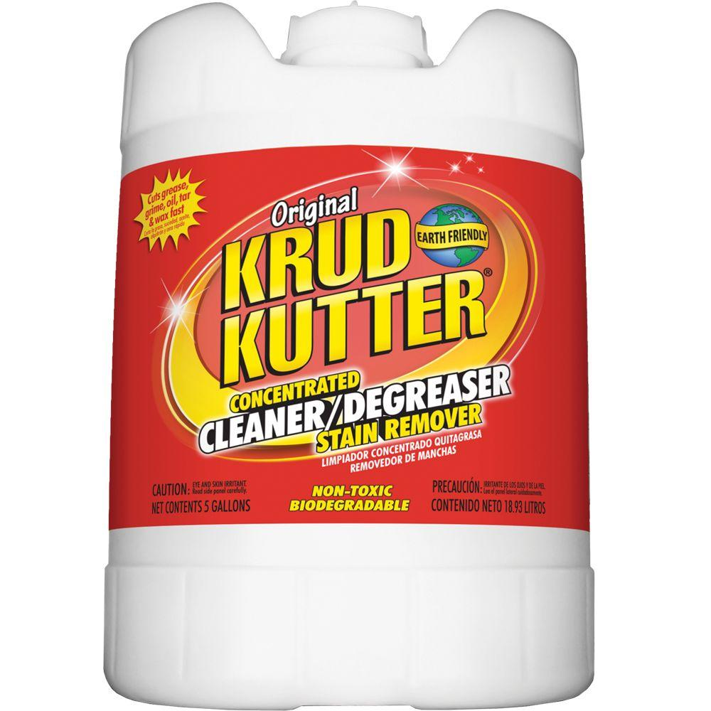 Kitchen Kutter: Krud Kutter 5 Gal. Original Concentrate Cleaner/Degreaser